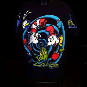 Vintage The Grinch Indiana Hoosiers Dr Seuss t shirt size XXL